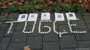 Candles for Tugçe's death