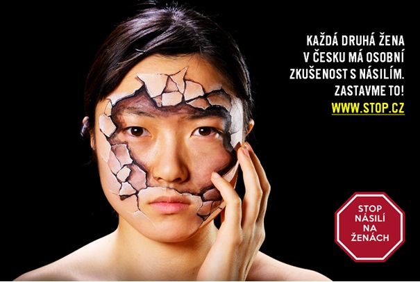 Campaign Stop violence against women of Czech Women's Lobby and Czech Amnesty International for adoption of the Istanbul Convention