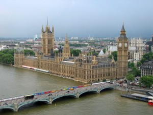 The Houses of Parliament in the UK, officially known as the Palace of Westminster - until now, female MPs make up only 29% of the parliament