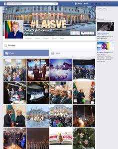 Dalia Grybauskaitė on Facebook