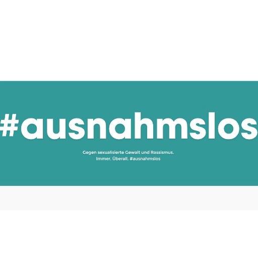 "The Logo of the ""#ausnahmslos"" initiative"