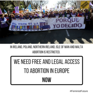Free and legal access to abortion in Europe
