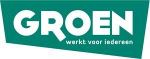 Het logo van Groen