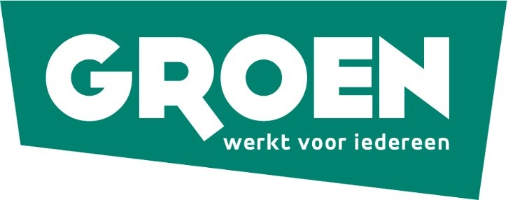 The logo of the Flemish Green Party