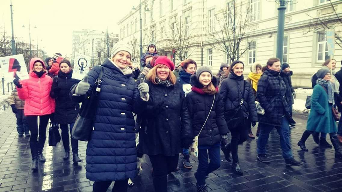 Women's march Vilnius