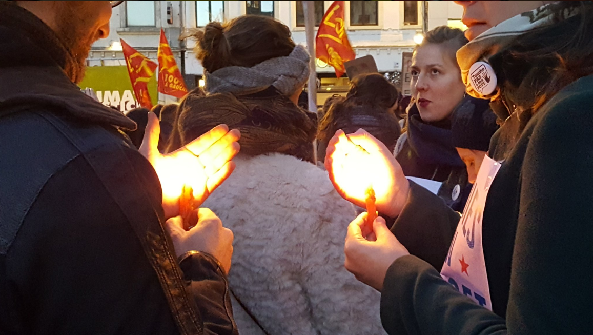 Women's march Brussels