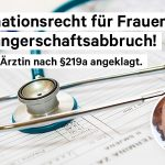 "The German controversy on Paragraph 219a on ""promoting"" abortions:  Paragraph 219a – ein Fall für die Geschichtsbücher [EN/DE]"